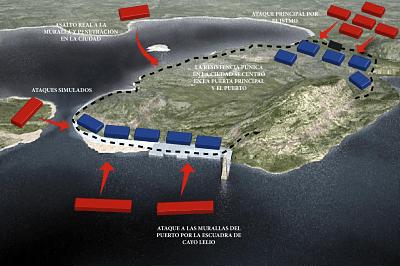 Asedio a la ciudad púnica de Cartago Nova