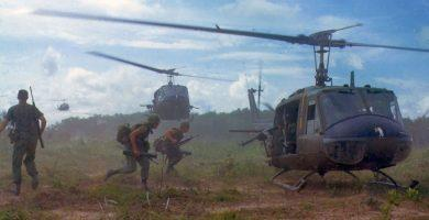 Soldados norteamericanos en la Guerra de Vietnam
