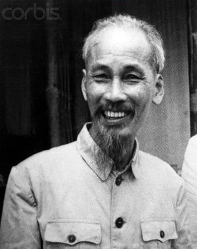 Ho Chi Minh. Presidente de Vietnam del Norte