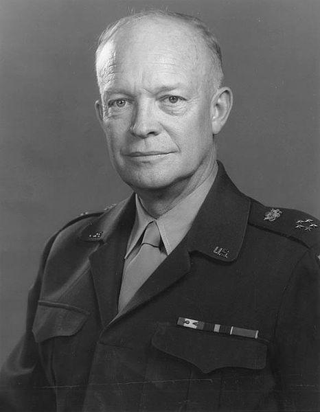 Foto del General Dwight D. Eisenhower