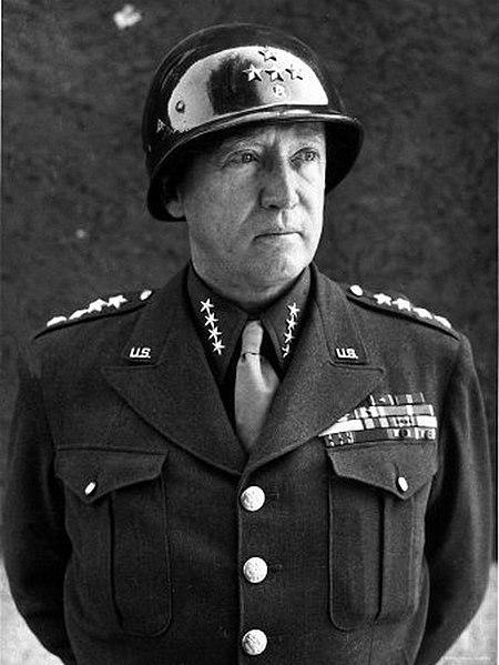 Foto del General George S Patton