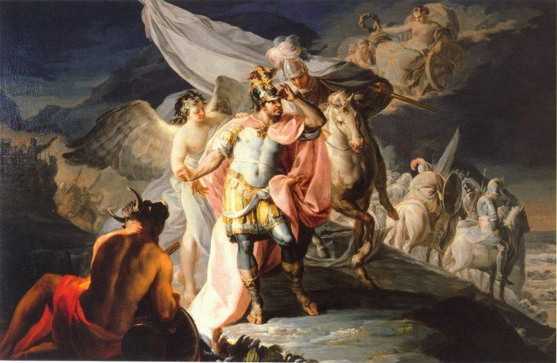 Pintura de Aníbal. Francisco de Goya