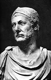 Busto del general cartaginés Aníbal Barca