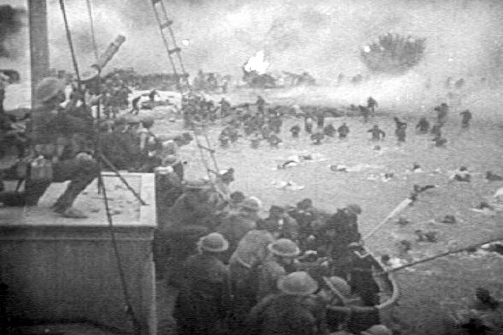 tropas británicas en Dunquerke