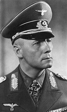 Foto del Mariscal Erwin Rommel