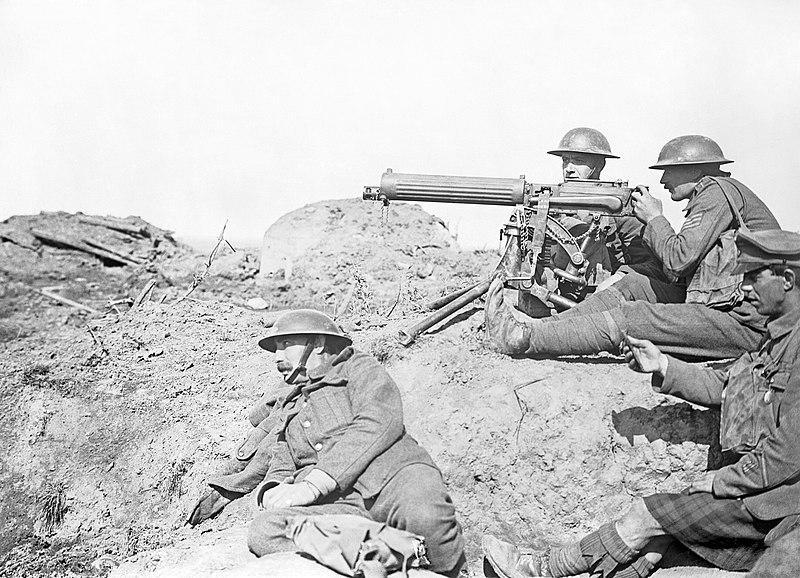 Imagen de soldados del cuerpo expedicionario ingles