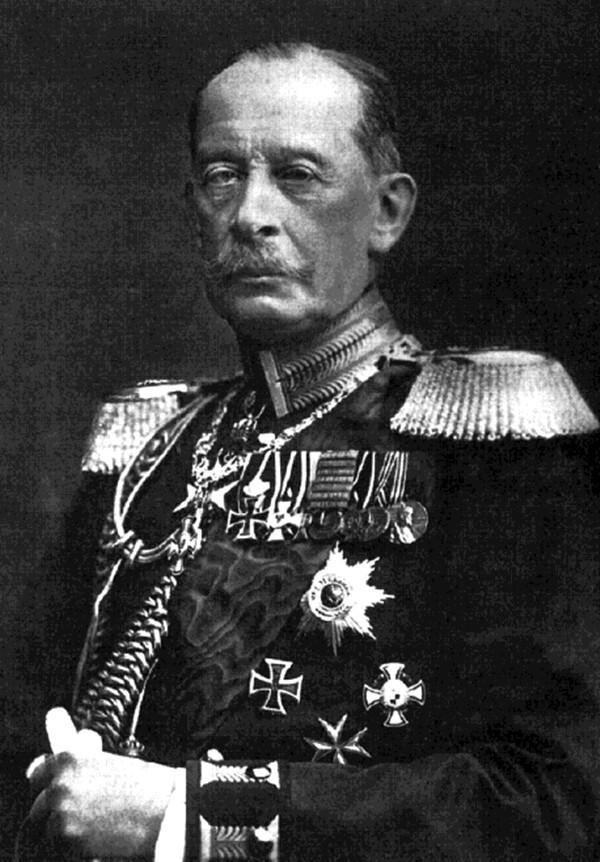 Foto del General Alfred von Schlieffen