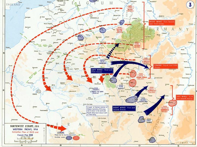 Imagen Plan 17. Primera Guerra Mundial