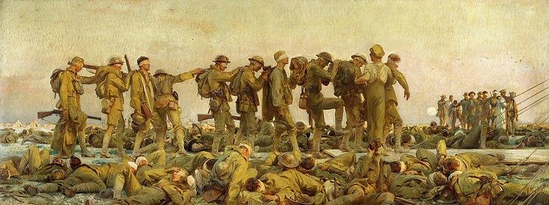 """""""Gaseados"""", John Sargent, 1919"""