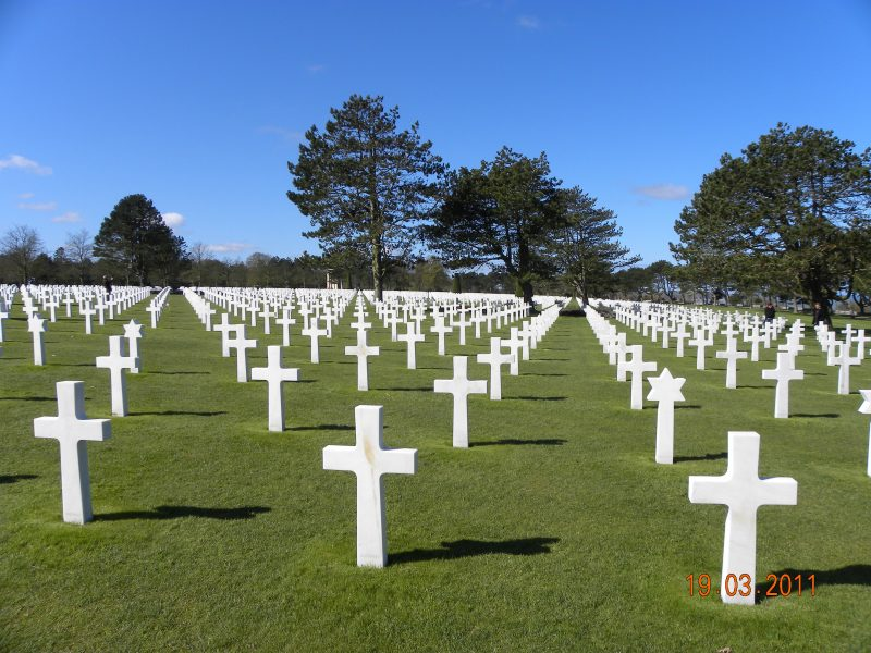 Cementerio norteamericano en Colleville-sur-Mer
