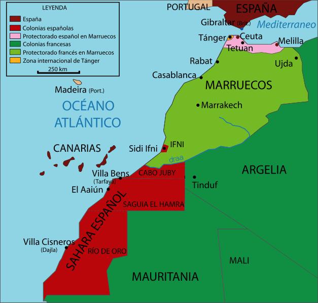 Marruecos en 1912