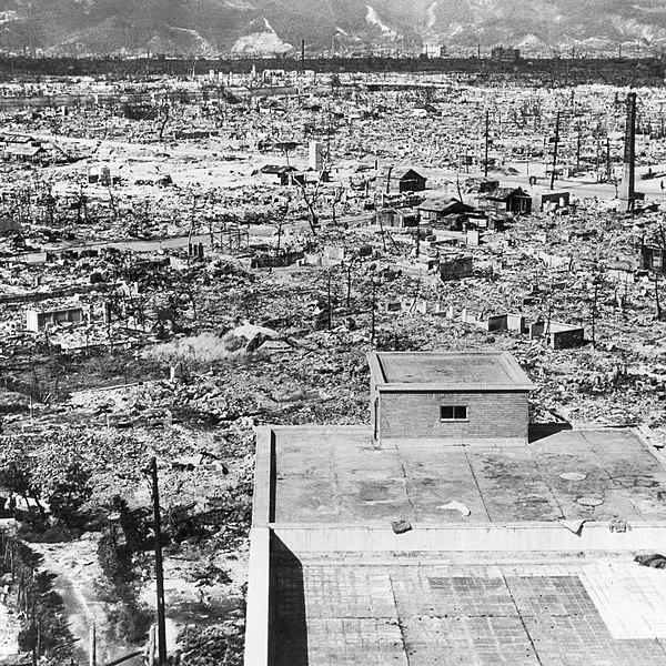 Imagen de Hiroshima tras la bomba atómica