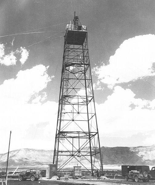 Torre prueba nuclear Trinity