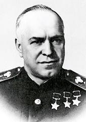 Imagen del mariscal Zhúkov.