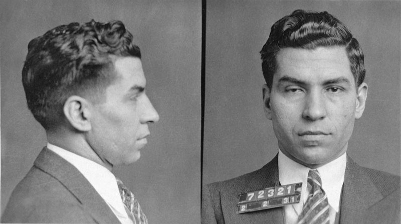 Lucky Luciano en 1931