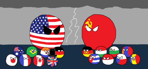 Dibujo sobre la Guerra Fría