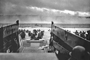 Imagen del Desembarco de Normandía