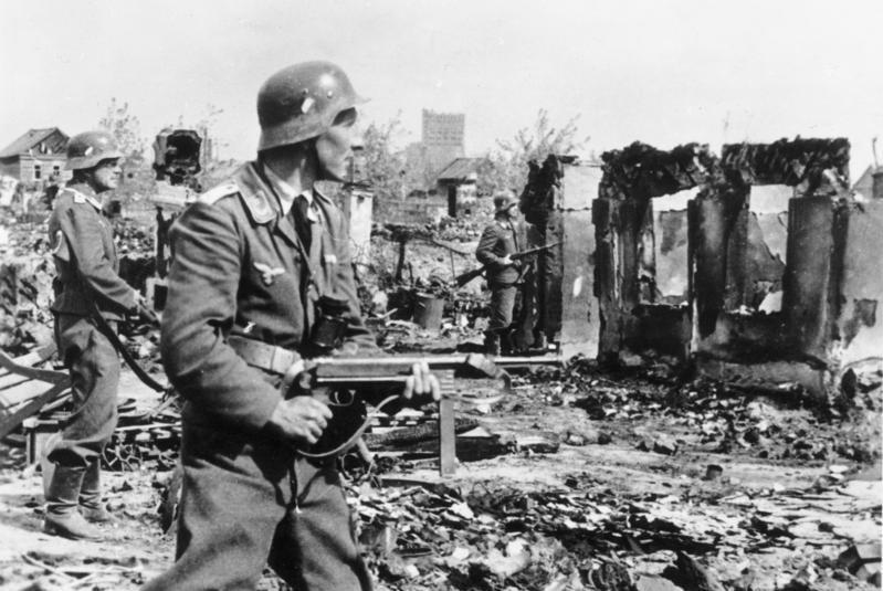 Soldado alemán en la Segunda Guerra Mundial