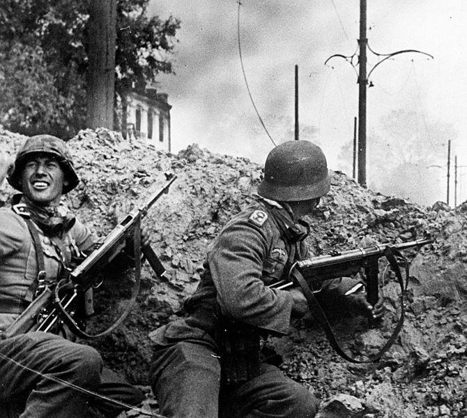 Imagen de soldados alemanes en Stalingrado