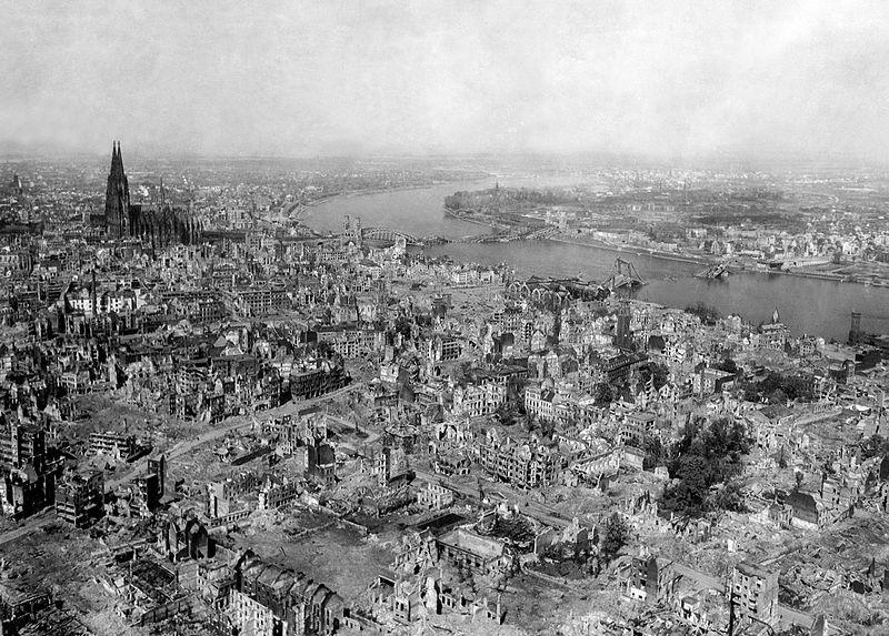 Bombardeo de ciudades alemanas en la Segunda Guerra Mundial