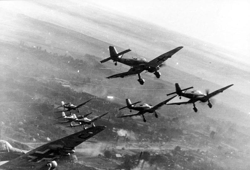 Imagen de la blitzkrieg guerra relampago