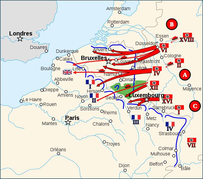 Invasion de Francia Segunda Guerra Mundial