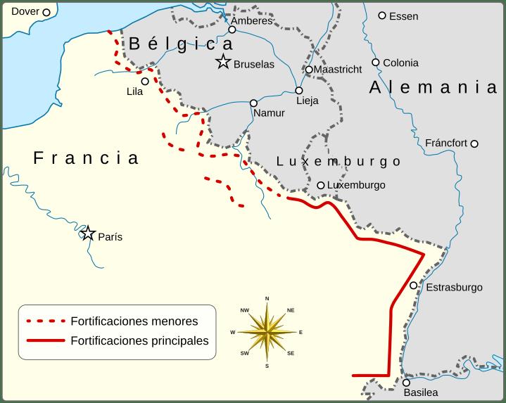 Linea maginot francia segunda guerra mundial