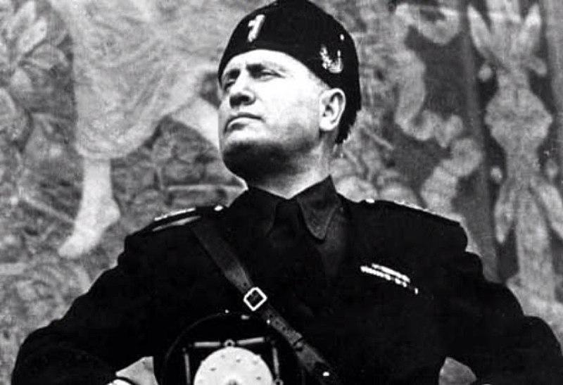 Imagen de Mussolini, el Duce de Italia