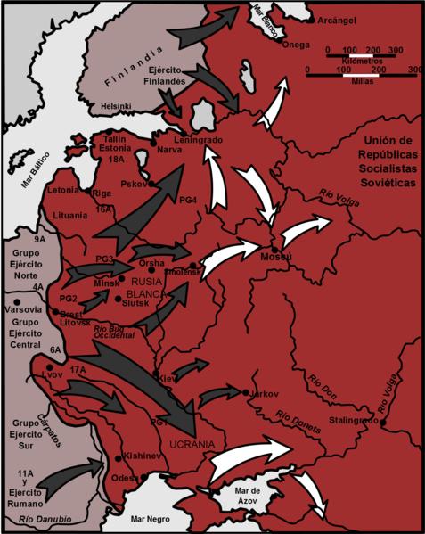 Operación Barbarroja: la invasión de Hitler de la Unión Soviética