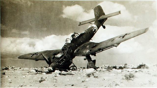 Avión Stuka alemán Segunda Guerra Mundial