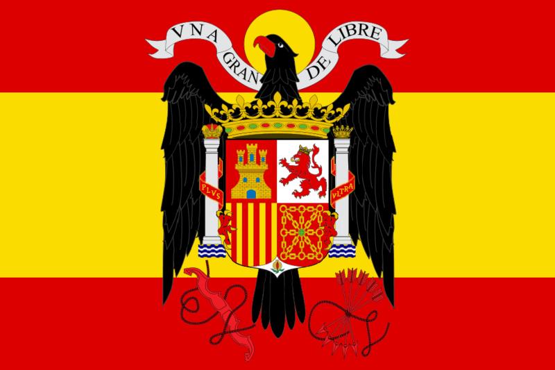 Bandera de la España de Franco