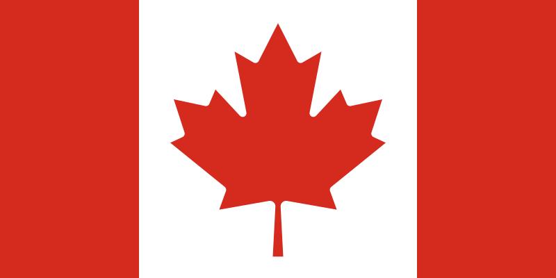 Bandera de Canadá en la Segunda Guerra Mundial