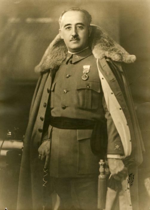 Fracisco Franco Bahamonde Guerra Civil Española