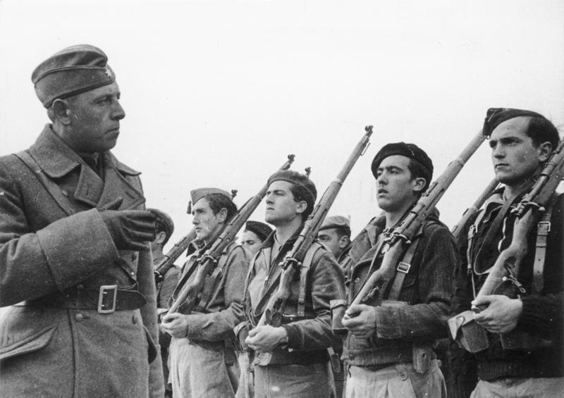 Legion condor, Guerra Civil Española