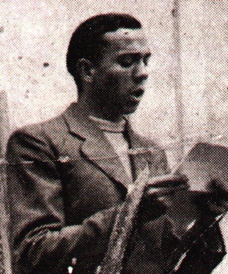 Poeta Miguel Hernández. Guerra Civil Española