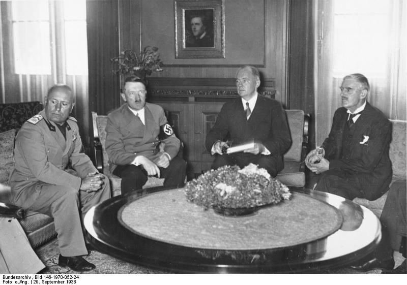 Pacto de Múnich (1938)