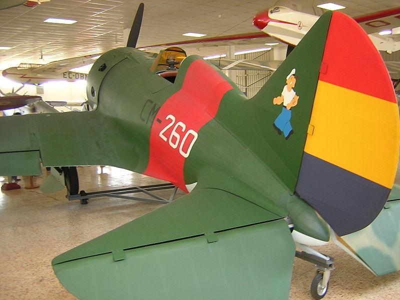 Avión Mosca republicano, Guerra Civil Española