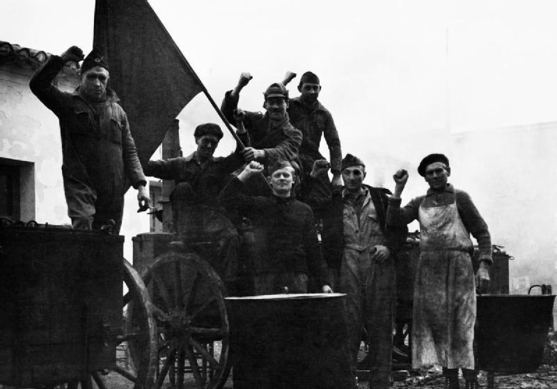 Las Brigadas Internacionales durante la Guerra Civil Española, diciembre de 1936 - enero de 1937