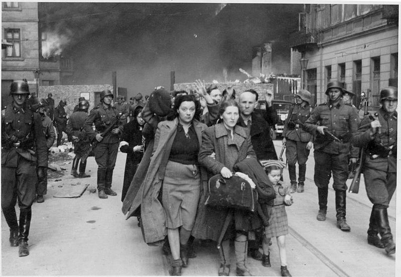 Judíos del gueto de Varsovia en la Segunda Guerra Mundial