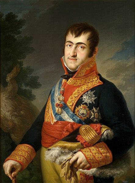 Retrato de Fernando VII en el Levantamiento del 2 de Mayo