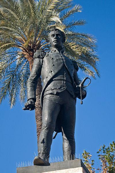 Estatua de Luis Daoiz. Levantamiento del 2 de Mayo