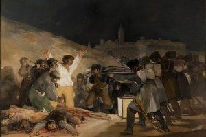 Cuadro de Goya. Fusilamientos del 3 de Mayo.