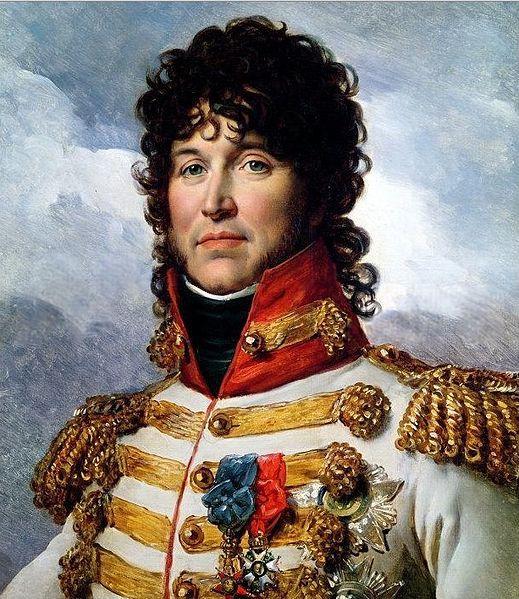 Retrato de Joaquín Murat. Levantamiento del 2 de mayo