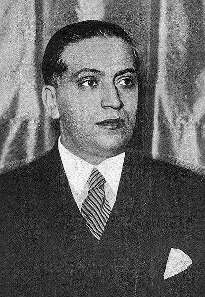 José Calvo Sotelo. Su muerte fue una de las causas directas e inmediatas de la guerra civil española