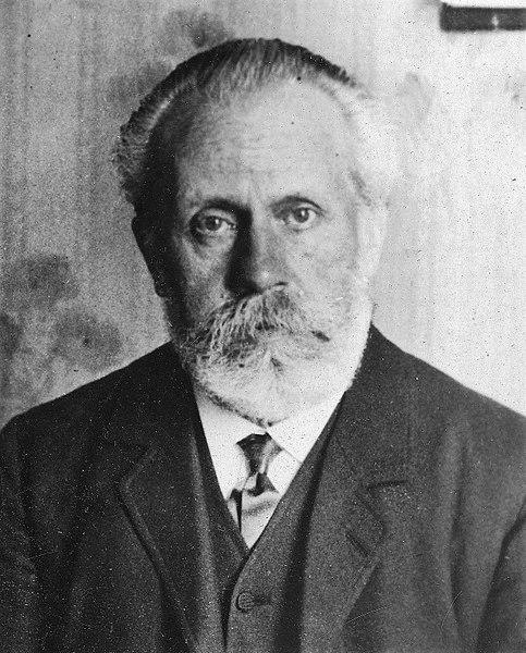 Pablo Iglesias Posse (1850-1925), fundador del Partido Socialista Obrero Español. Guerra Civil espñola