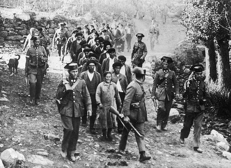 Revolución de Asturias de 1934. Causas de la guerra civil española