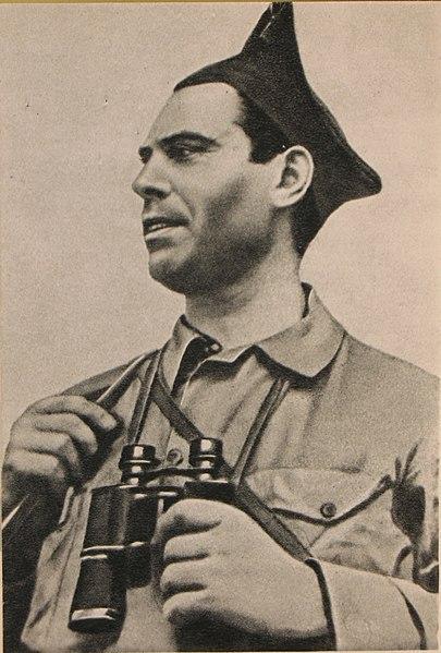 Imagen del anarquista Buenaventura Durruti durante el conflicto civil