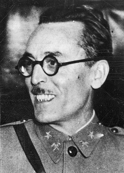 Fotografía del coronel Casado durante la guerra civil