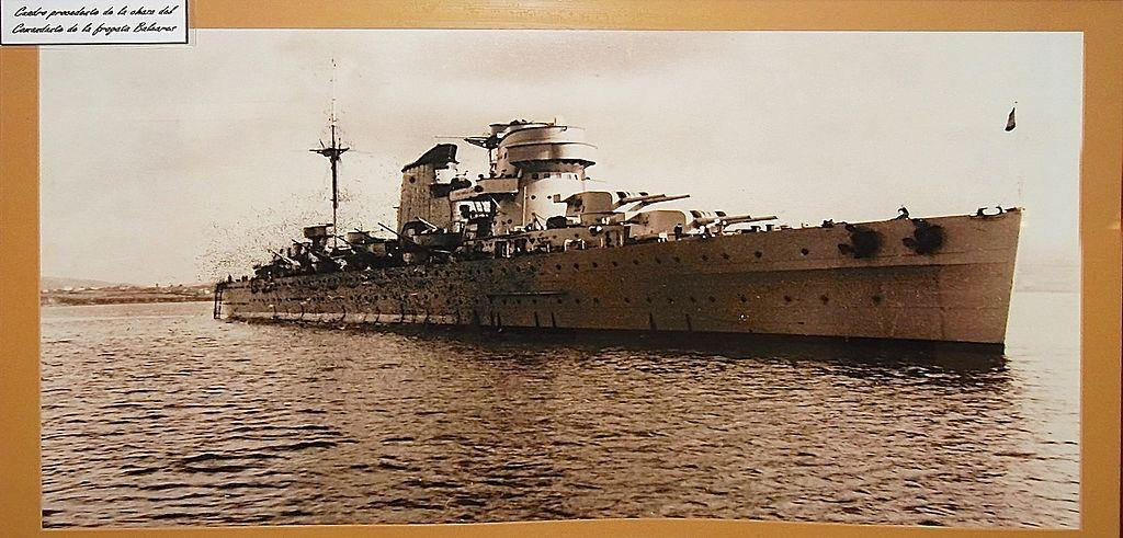 Crucero nacionalista Baleares