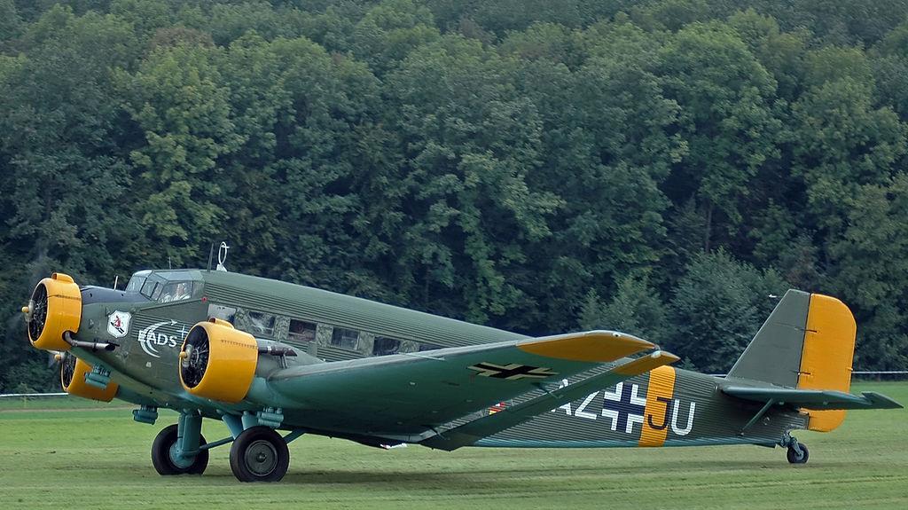 Junkers 52 en la Guerra Civil